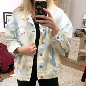 Free People Trucker Jean jacket size m/L